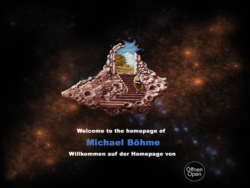 Michael Böhme: Earth & Space Artist - Symbolismus, Spaceart, Landschaft, Space Art